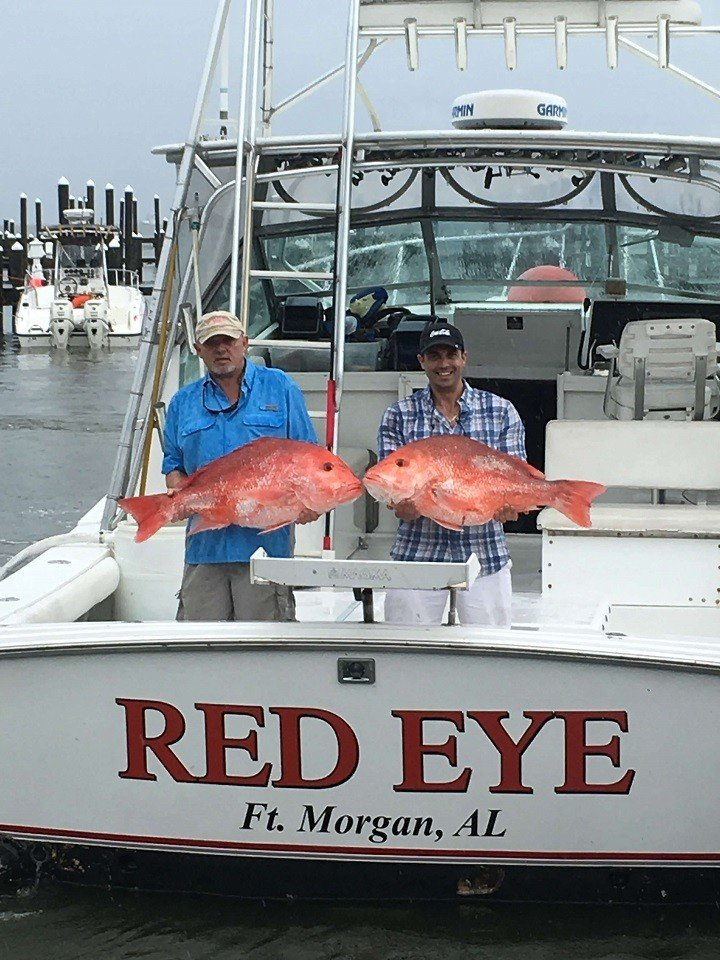 Contact red eye charters ft morgan fishing book today for Fort morgan fishing charters