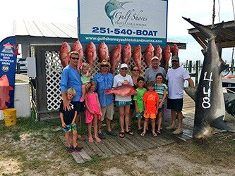 Recorod bull shark catch red eye charters 333w red eye for Fort morgan fishing charters